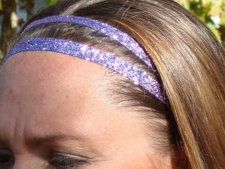 Lavender Glitter Twins