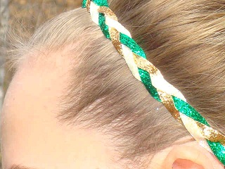 Panther Pride Glitter Braid