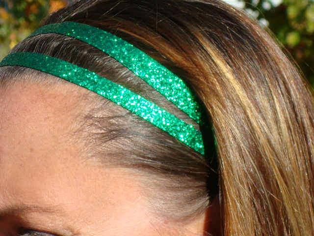 Green Glitter Twins