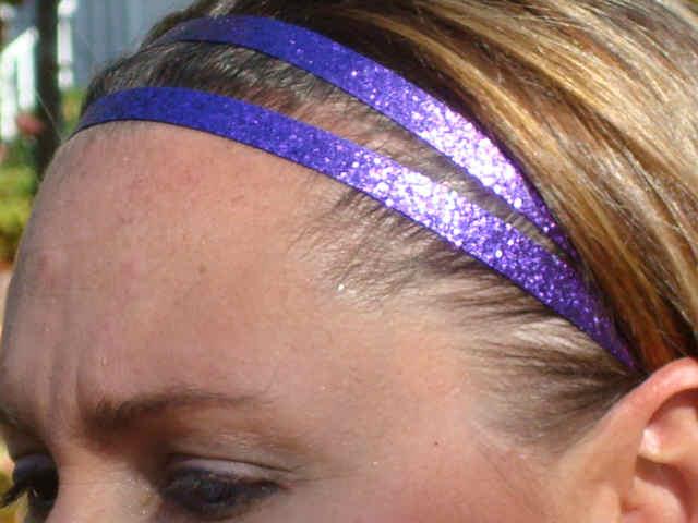 Purple Glitter Twins