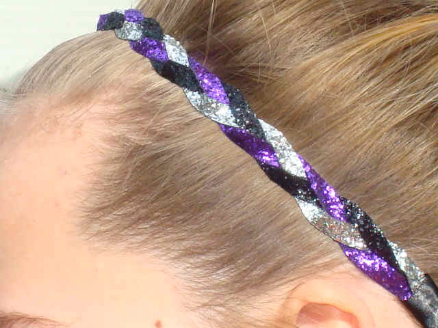 Wild Child Glitter Braid