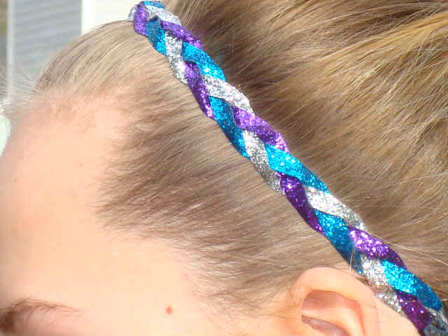 Simply Fabulous Glitter Braid