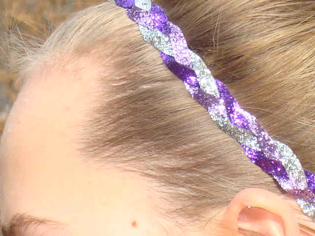 Purple Passion Glitter Braid
