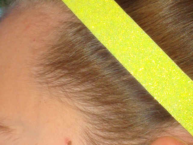 Lemon Glitter Headband